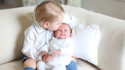 Prince George and Princess Charlotte, Amner Hall, June 2015