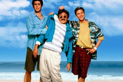 Two bored office workers are invited to their bosses beach house for the summer - and it's so amazing that they're not gonna let his death get in the way of a good time!