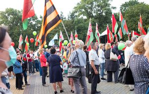 Belarus blocks over 50 news websites amid large protests
