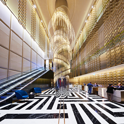 The Star Grand Hotel lobby