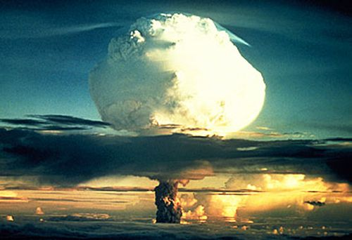 Nuclear test at Marshall Islands (Getty)