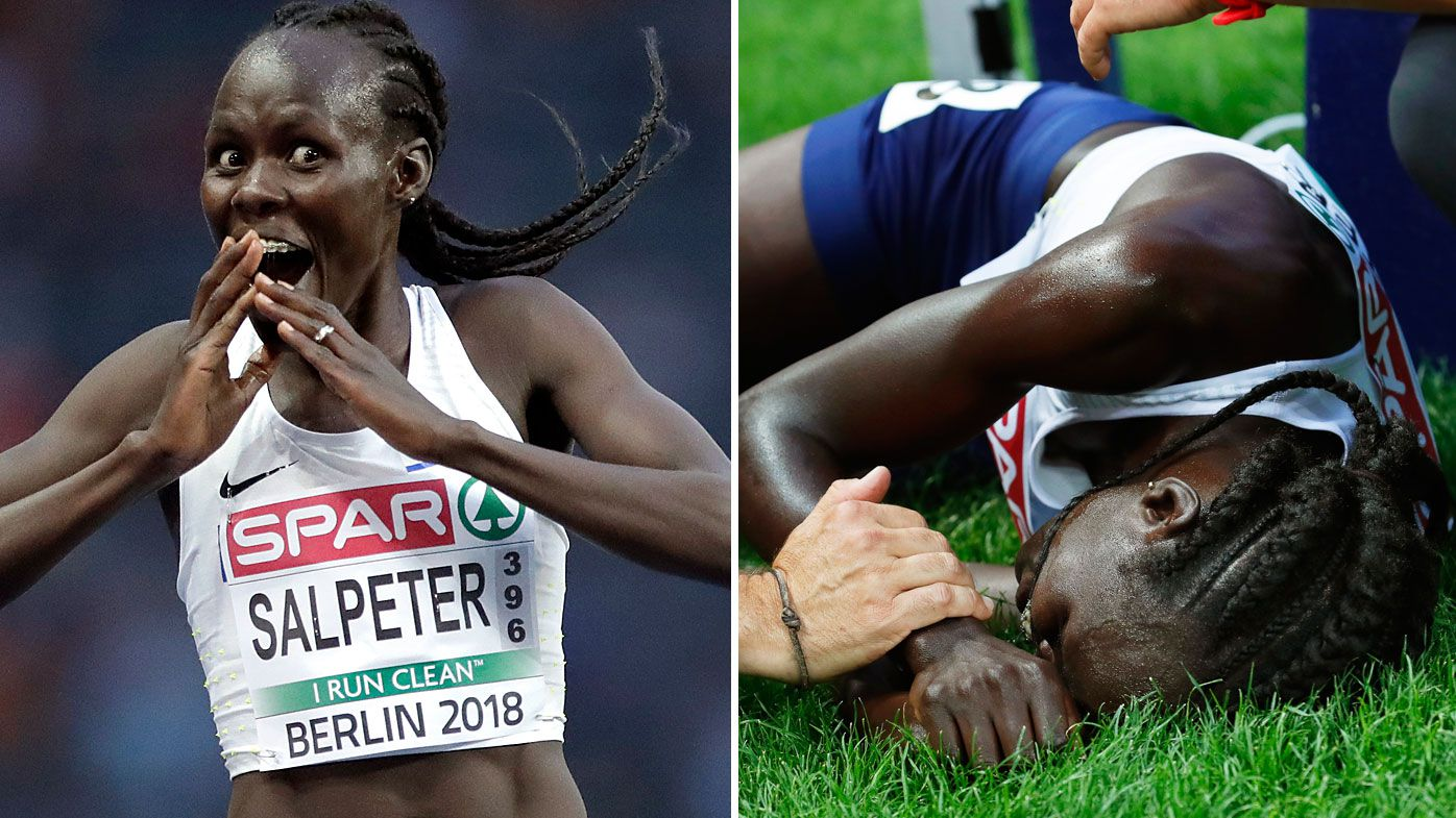 Middle-distance runner Lonah Salpeter goes from ecstasy to agony in European Championships gaffe