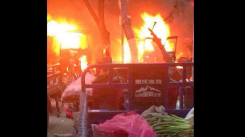 31 dead in attack in China's Xinjiang