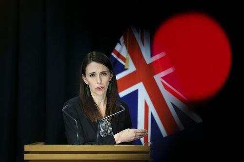 Prime Minister Jacinda Ardern announces COVID-19 restrictions have been reintroduced across New Zealand after four new COVID-19 cases were diagnosed in Auckland