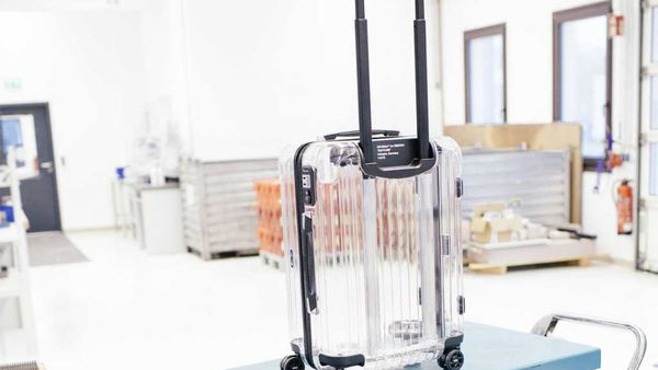 Rimowa x Off-White Cabin Multiwheel naked suitcase