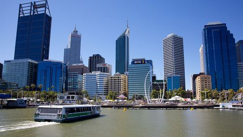 The  Elizabeth Quay in Perth is the proposed site for a memorial to the MH370 victims. (Photo: AP).