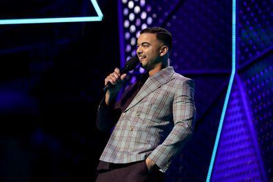 Host Guy Sebastian during the 33rd Annual ARIA Awards 2019 at The Star on November 27, 2019 in Sydney, Australia