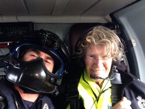 The woman was found by Police Air Wing. (WA Police)