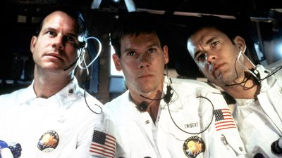 <p><em>Apollo 13</em> (1995) – A dramatised account of the aborted 1970 Apollo 13 lunar mission, Apollo 13 saw Hanks play real-life astronaut Jim Lovell. It was nominated for a total of nine Academy Awards and won two, for Best Film Editing and Best Sound.</p> <p>(Imagine Entertainment/Universal Pictures)</p>