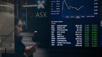 The Australian share market is expected to open lower after the US central bank cut interest rates overnight.