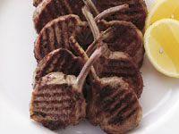 Herb and Dijon lamb cutlets