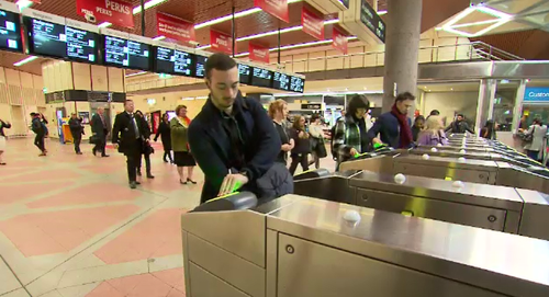 If you've been left waiting for your Loop train to arrive, you're not alone. (9NEWS)