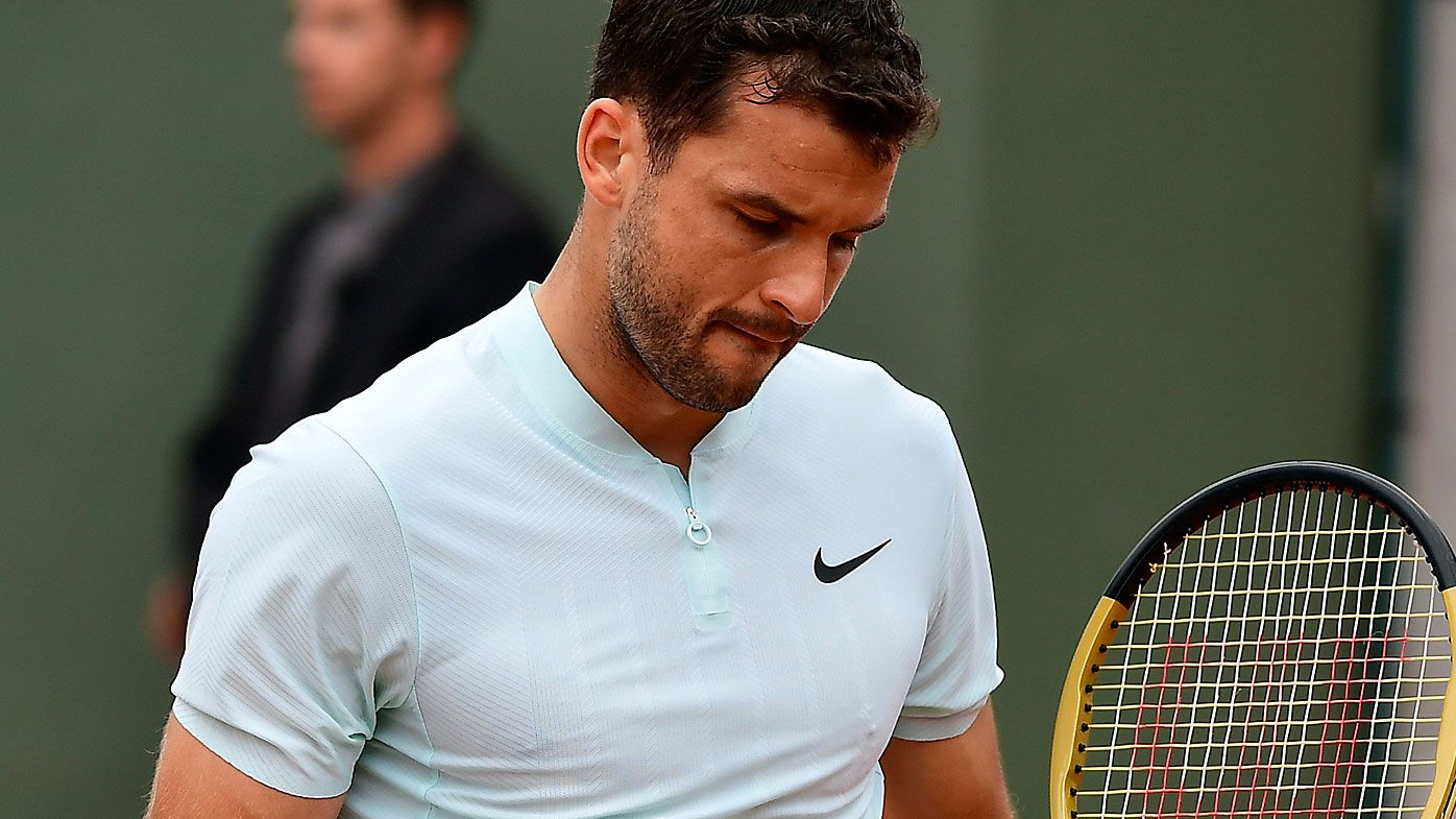 Grigor Dimitrov suffers shock loss at French Open to Fernando Verdasco
