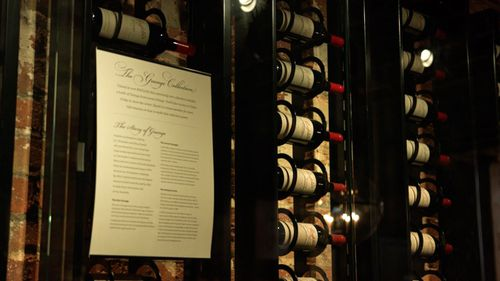 The auction smashed the previous record, set in December 2019, when a set of Penfolds Grange sold for $372,800.