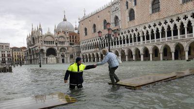 Venice goes underwater