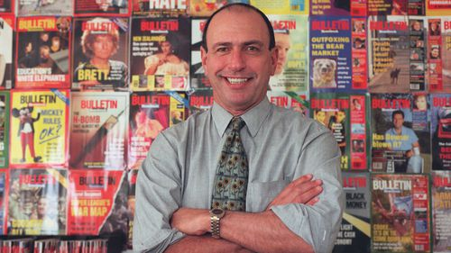 Gerald Stone as the editor of the Bulletin in 1996.