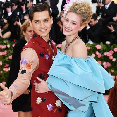 Cole Sprouse and Lili Reinhart