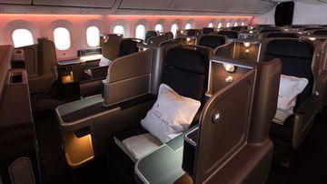 World's first jetlag-free flight? Inside Qantas' ground-breaking Dreamliner business class cabin