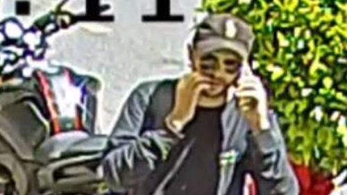 Police are looking to talk to this man. Anyone with information is asked to call crimestoppers.
