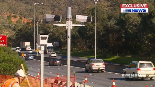 The SA Government insists the upgrade isn't about revenue-raising. Picture: 9NEWS