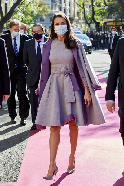 Queen Letizia in Valencia, November 2020