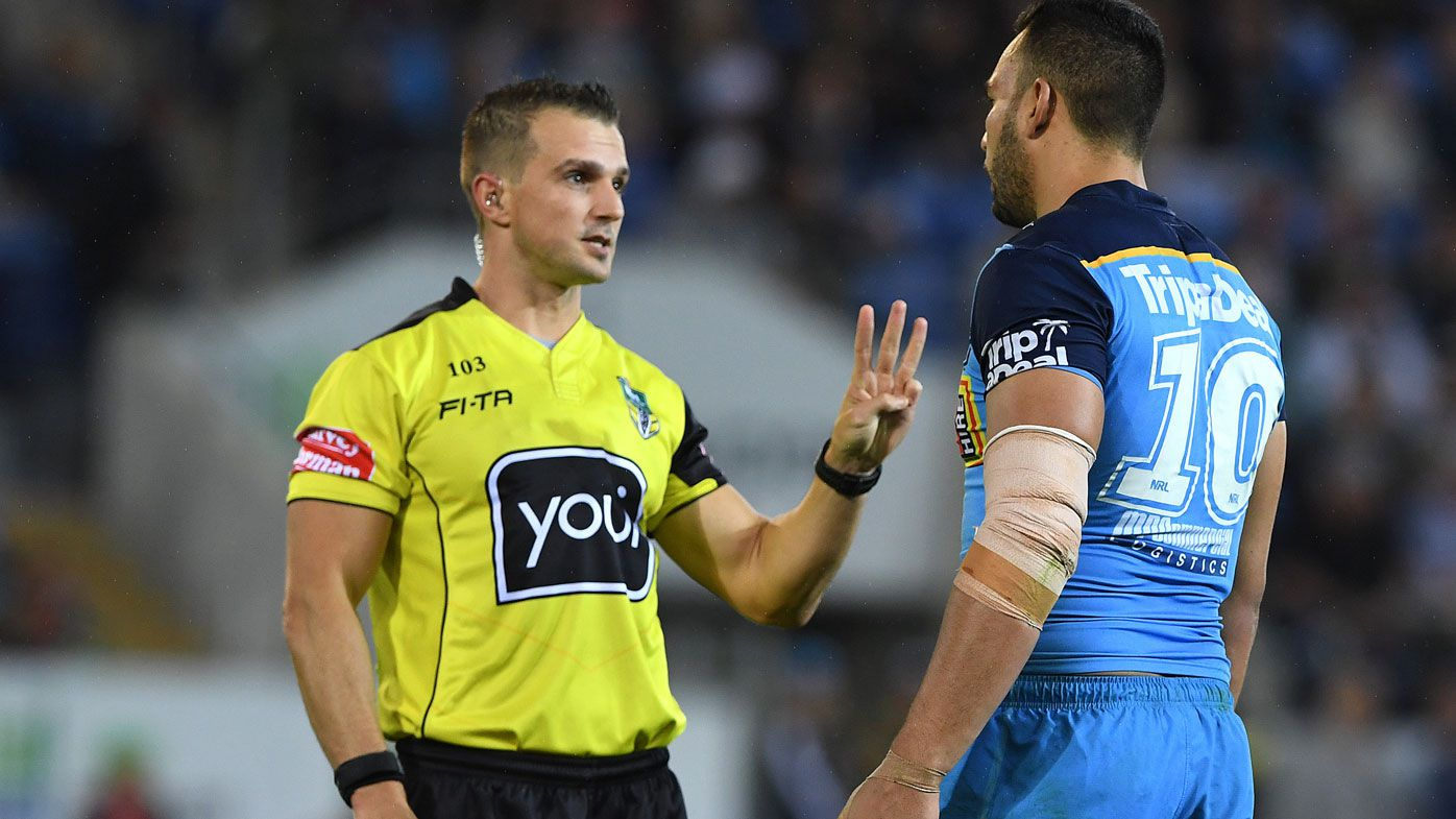 NRL ease up on referees' penalty crackdown