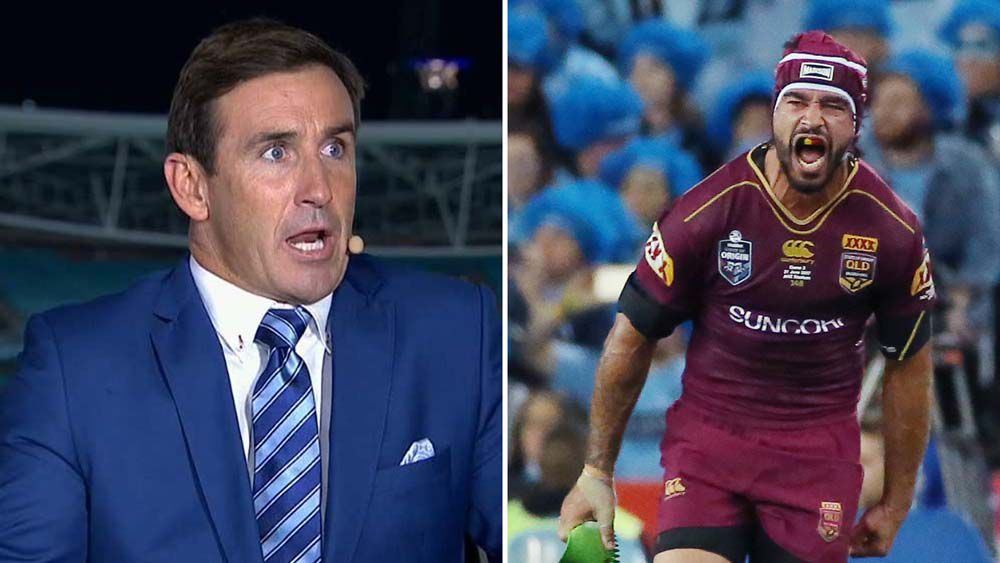 State of Origin: Andrew Johns blasts Blues for not targeting Johnathan Thurston