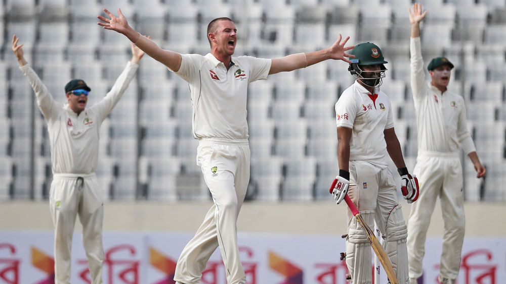 Australia in trouble after two days of first Test against Bangladesh