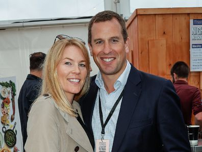 Peter Phillips with his wife Autumn Phillips who are yet to finalise their divorce following a split in 2019.