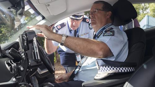 Queensland Police have been testing the vehicle since last 2017, and this week it has officially been added to the force. Picture: Supplied.