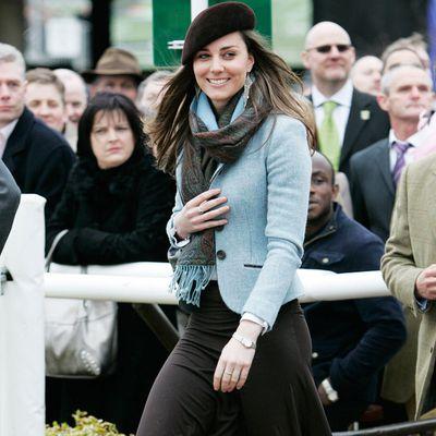 Kate Middleton at theCheltenham Festival, March 2007