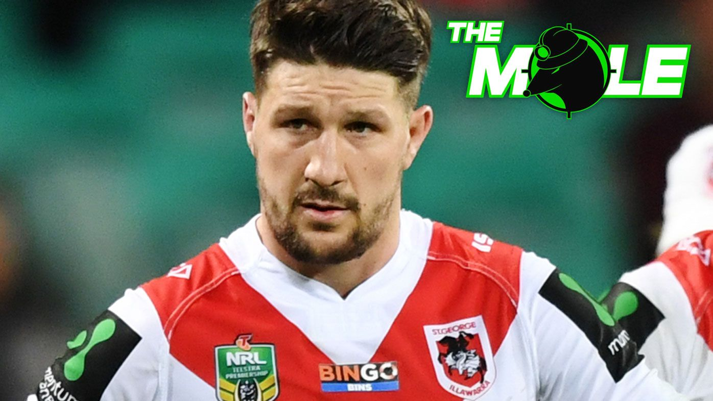 The Mole: Gareth Widdop's Dragons fullback switch, flyer wants out of Rabbitohs