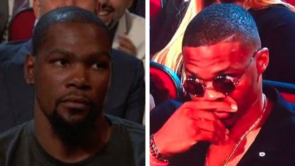 NBA: Kevin Durant no fan of ESPY awards joke about his move to Golden State Warriors