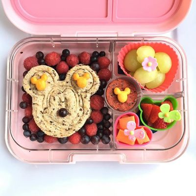 "Mum, dentist and nutritionist, Lily - makes these intricate lunchboxes for her children, Noah, one and Luna, seven and posts them on her Instagram account, <a href=""https://www.instagram.com/lilyslunchboxes/?hl=en"" target=""_blank"">@lilyslunchboxes</a>"