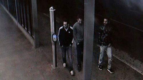 Three men police wish to speak with. (NSW Police)