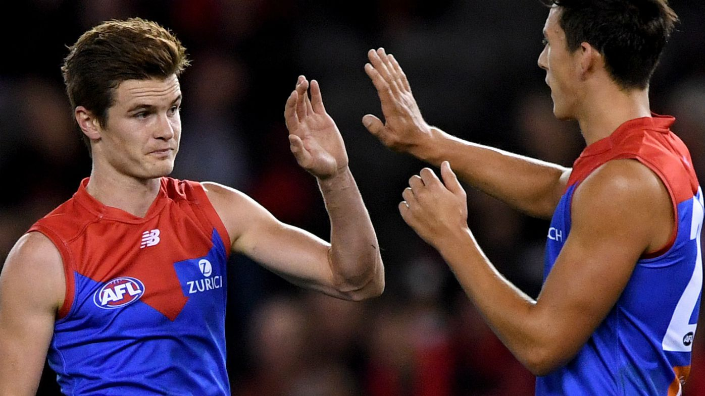 Flaky Bombers steamrolled by Demons in AFL