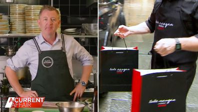Celebrity chef turned delivery driver's recipe for adapting through lockdowns.