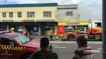 building fire in warrawong damages three businesses