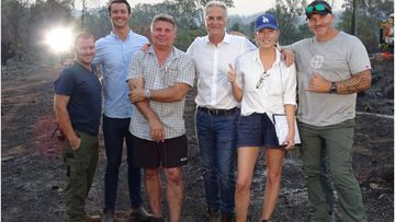 Reporter Alex Heinke and the 9News team were in the thick of the devastating Queensland bushfires.