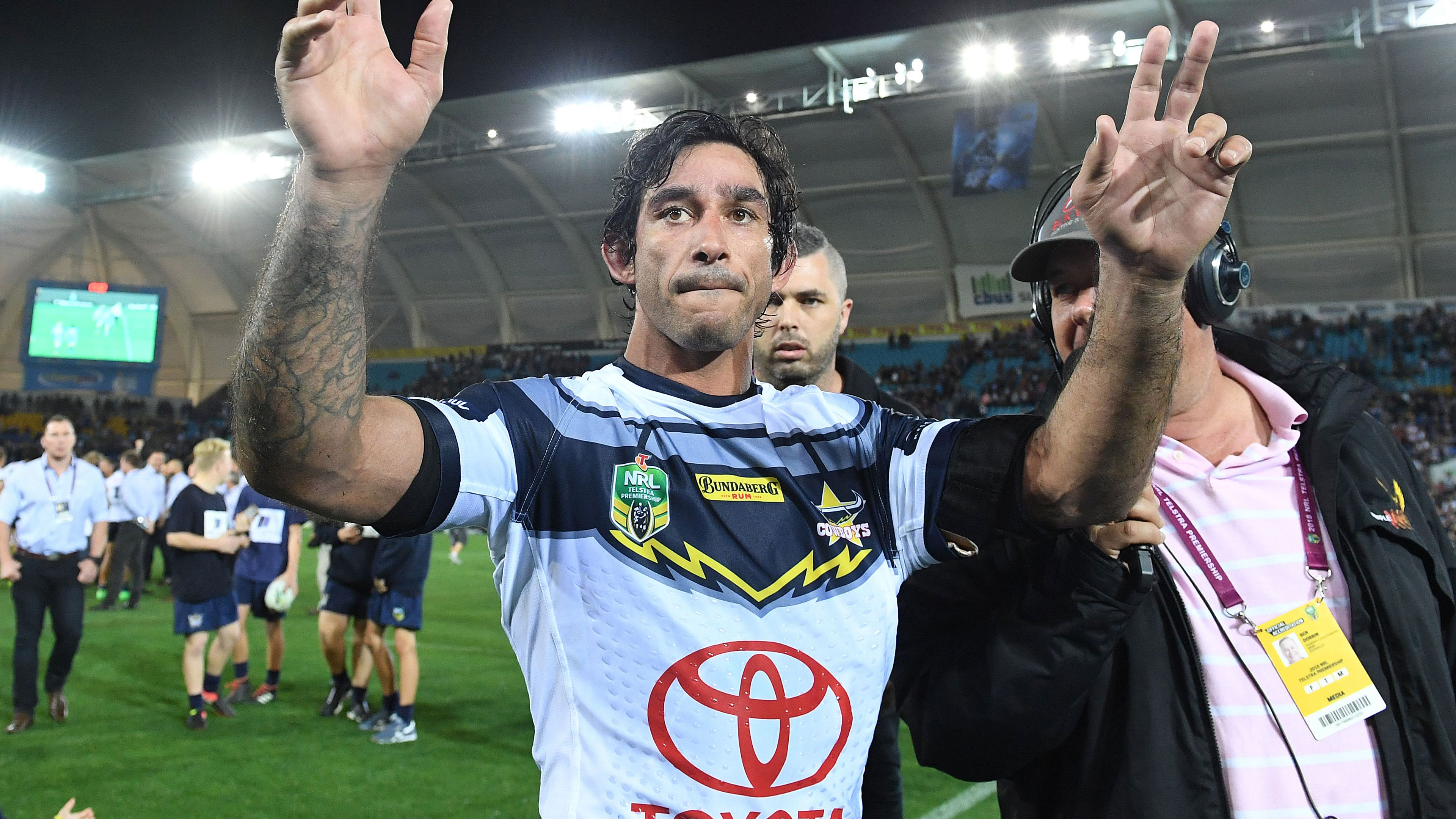The Footy Show to present Johnathan Thurston special, 8.30pm Thursday