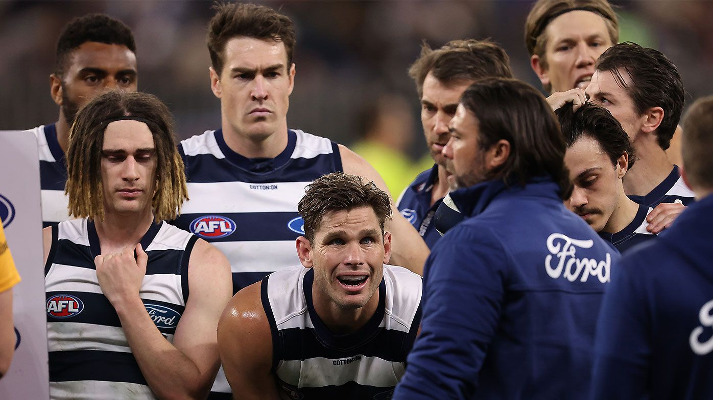 Multiple Geelong stars were struck down by illness in lead-up to preliminary final belting