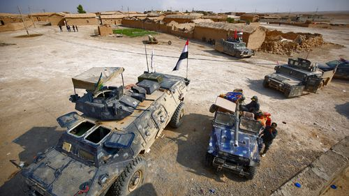 Iraqi and Kurdish forces are closing in on Mosul. (AAP)