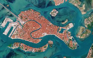 Images from space shows how Venice's canals have changed in coronavirus crisis