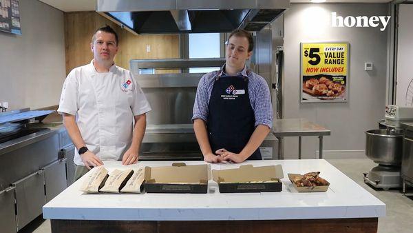 Dominos hires Zach Gracie to eat garlic bread