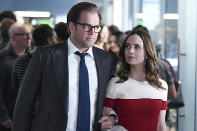 Michael Weatherly and Eliza Dushku on 'Bull'