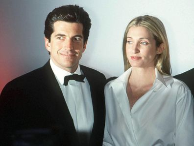 John F. Kennedy and Carolyn Bessette.