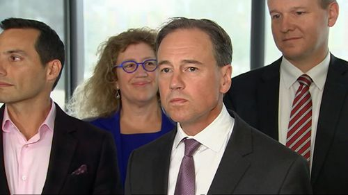 Health Minister Greg Hunt announced the changes today.