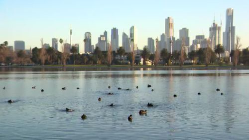 Winter is certainly not over in Melbourne, where temperatures dipped to a year-low this morning.