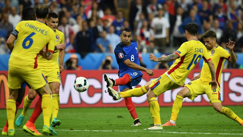 Hosts France get Euro party started