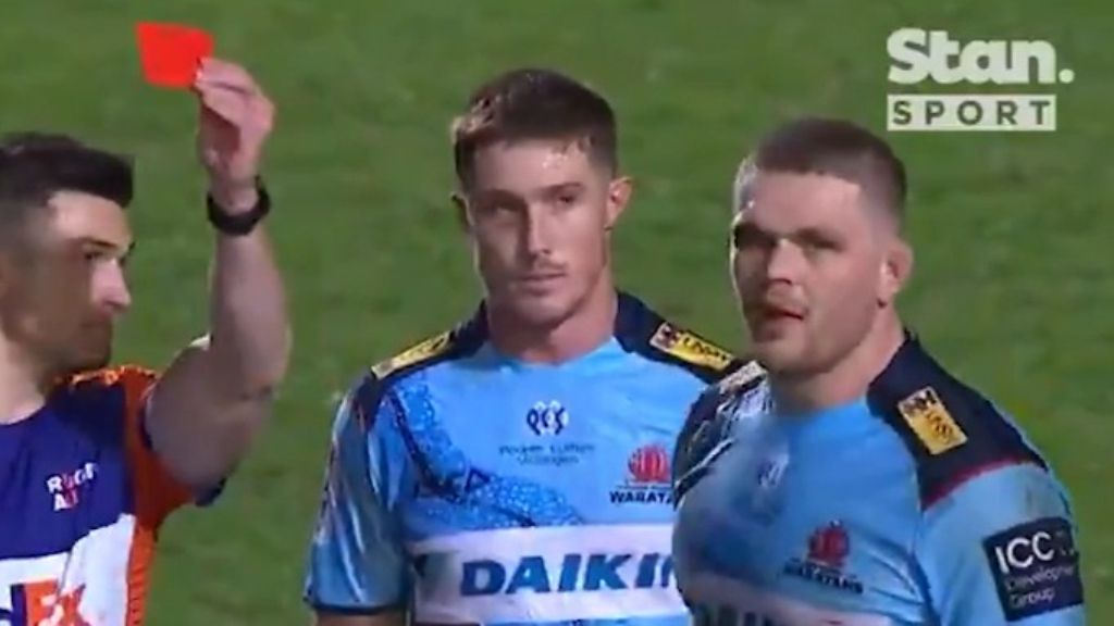 Wallabies enforcer Lachie Swinton escapes ban after red card, cleared to play against France